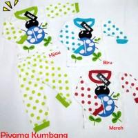 Piyama Anak Kumbang 0-1thn Setelan Anak  Baju Anak Murah Unisex