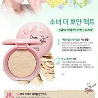 Dear girls be clear pact 10g / bedak padat Etude / bedak korea