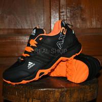 Diskon Terbaru Sepatu Adidas AX2 Goretex Hitam Orange Sport Outdoor W