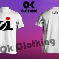 Baju kaos t-shirt Oi Iwan Fals simple keren