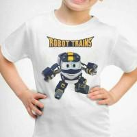 kaos Baju Tshirt Robot Trains