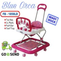 FAMILY BABY WALKER FB - 1858 PINK