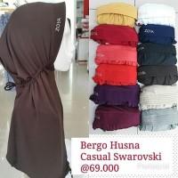 Kerudung Bergo Husna Casual Swarovsky by Zoya