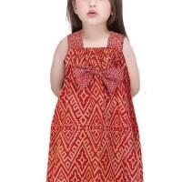 Baju Anak Cewek Dress Batik Arsyalia umur (3-7 tahun)