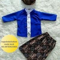 Baju Bayi dan Anak Kostum Sunatan Kartinian Hewes Beskap Tradisional