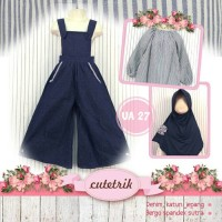 Overall/jumpsuit muslim anak 3-7t