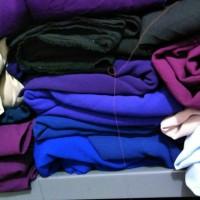 kain double crape kiloan (cocok untuk baju dan kerudung)