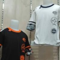 baju pakaian kaos anak laki-laki usia 10-12 thn