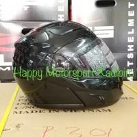 Helm Zeus 3500 modular bahan Carbon Kevlar super ringan Modular M L XL