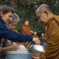 Jubah Bhante / Bhikku Theravada untuk Kathina (Coklat)