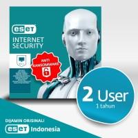 Antivirus ESET Internet Security - 2 Komputer 1 Tahun