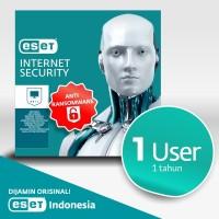 Antivirus ESET Internet Security 1 Komputer 1 Tahun