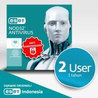 Antivirus ESET NOD32 Antivirus - 2 Komputer 1 Tahun
