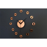 DIY Gaint Wall Clock 30-60cm Diameter - ELET00664 / Jam Dinding