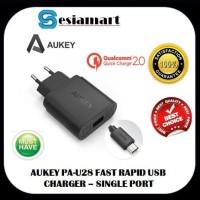 AUKEY Fast Rapid USB Wall Charger Single 18W PA-U28 QC 2.0