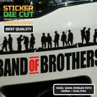 Sticker Band of Brother Jeep Off road Dll