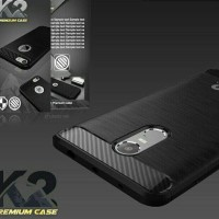 Premium Case K2 Soft Back Carbon Fiber Xiaomi REDMI 3X