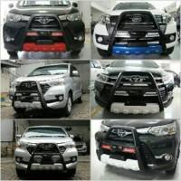 tanduk depan / bumper depan with led datsun go