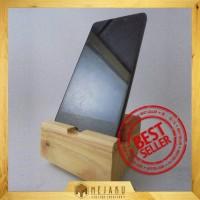 Dudukan HP Minimalis / Phone Docking Kayu Minimalis - Custom by MejaKu