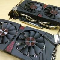 ASUS GTX 1060 DirectCU II OC STRIX 6GB DDR5