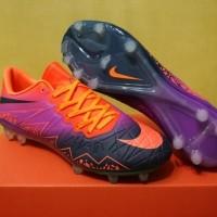 Sepatu Bola / Soccer Nike Hypervenom II Floodlights Vivid Purple - F