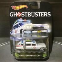 Hot Wheels Ghostbusters Ecto-1 Retro Entertainment Ban Karet