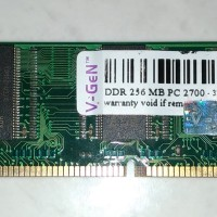 MEMORY DDR PC3200 - 256MB untuk PC / VGEN