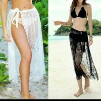 Beach Skirt Sarong Bikini Cover Wrap Up Lace Wrap Dress Swim Wear