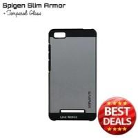 Spigen Slim Armor Case Xiaomi Mi4i Mi4i Mi4C Mi 4C + Tempered Glass
