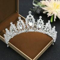 Mahkota rambut tiara wedding crown rambut pesta pengantin CC090