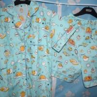 Pajamas / piyama / baju tidur katun Gudetama