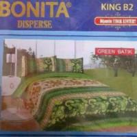 Badcover Bonita 3D - Sprei Bonita 3D - Uk.180x200 - Badcover Lucu