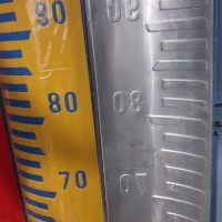 Peilschaal alat ukur tinggi air / papan duga