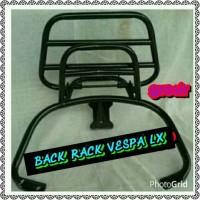 Aksesoris Vespa Back Rack Vespa LX dan S