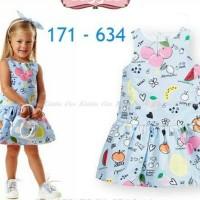 Baju Pesta Dress satin Anak Remaja Perempuan 641
