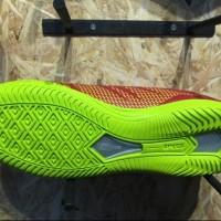 STOK TERBATAS Sepatu futsal specs original Apache in dark red solar s