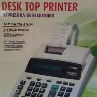 cuci gudang Sale CASIO FR-2650T-WE - Kalkulator Printing Limited