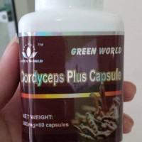 Cordyceps Plus Capsule Green World Original-Obat Sesak Nafas-Asma-TBC