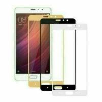 For Xiaomi Redmi Note 5A Xiomi Tempered Glass Full Layar Anti Gores