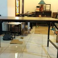 meja lipat semi permanent spesial heavy duty kerja berat