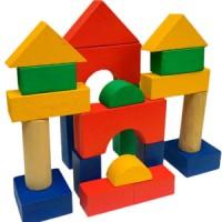 Mainan Edukasi Anak-Balok Bangun Ekono