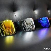 Visor Iridium Japan Mirror ARai or Kaca Helm Arai Mirror RX7 RR5 ORI