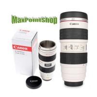 Termos Mug Gelas Model Lensa Camera Canon Zoom Lens Cup