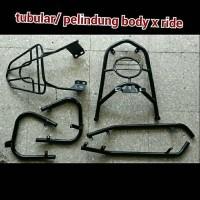 Aksesoris Besi Pelindung Badan Body Motor Yamaha X-Ride