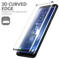 Tempered Glass FULL Samsung S8+ S8 Plus - Screen Guard Curve AntiGores