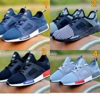 Sepatu adidas NMD X R 1 slip on slop pria waanita running sport joging