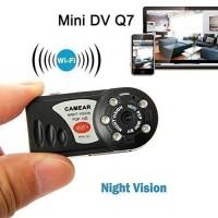 Wifi Ip Camera Mini Dv Q7 Spy Hidden Camera With IR Nigh Vision P2P