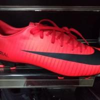 Sepatu Bola Nike Mercurial X Victory VI FG University Red BNIB