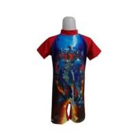 Baju renang anak transformer