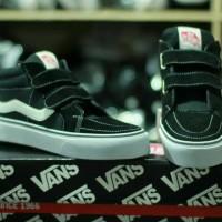 Sepatu Anak Sekolah TK SD Vans Kids SK8 Import Murah Kualitas TERBAIK